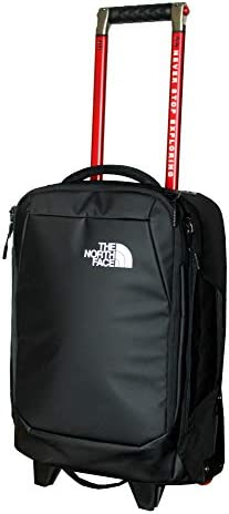 The North Face Accona 19 Carry-Ons Luggage Travel Rolling Bag RTO Tnf Black