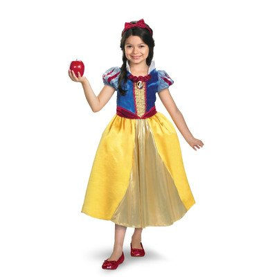 Snow White Shimmer Deluxe Costume