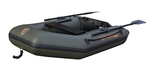 Fox Schlauchboot FX 200 Inflatable Boat inkl. Hard Back Marine Ply Floor- Boot Angelboot , Anglerboot