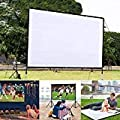 Kindes 60 Inch Projection Movie Screen 4 3 Hd Foldable Anti Crease Portable Projector Movies Screens With Portable Bag For Home Theater Outdoor Indoor