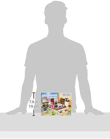 Amazon.com: Playmobil Juego de utensilios de cocina Edificio ...