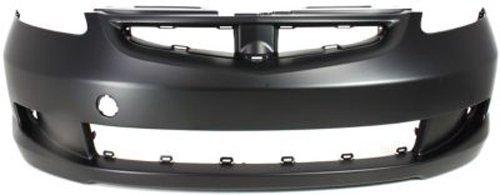 Honda Fit Bumper - Crash Parts Plus Primed Front Bumper Cover Replacement for 2007-2008 Honda Fit