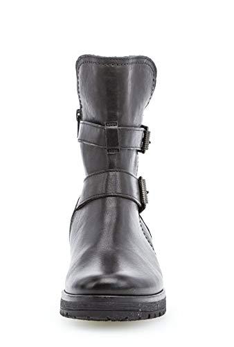 Schwarz Glattleder Shiraz Ankle Gabor 093 92 Boot w8qBqxpU