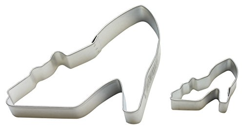 Cybrtrayd Parent/Child Cookie Cutter Set, 4-Inch, High Heel Shoe (Shoe Bakery Heels compare prices)