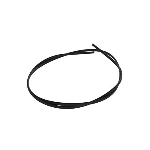 Othmro ABS Plastic Welding Rods Black 1Pcs 5mm Width 2.5mm Thickness 1Meter Length for Plastic Welder Gun