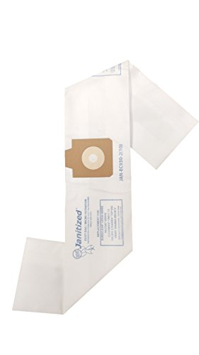 Viper Floor Machine - Janitized JAN-EC930-2(10) Premium Replacement Commercial Vacuum Bag, Euroclean UZ930, Viper MB39CV, Nilfisk GD930, Pullman Holt 390ASB, OEM#1407015040, 1407015020, B600900 (Pack of 10)