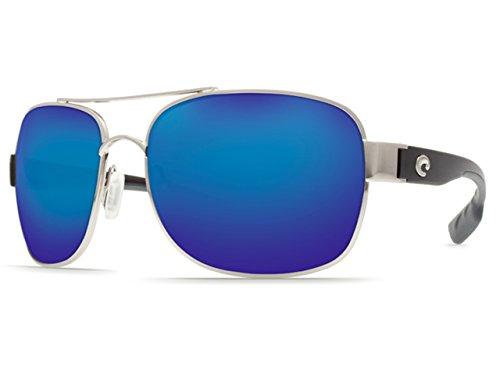 Costa Del Mar Sunglasses - Cocos- Glass / Frame: Gunmetal /Crystal Lens: Polarized Blue Mirror Wave 400 Glass ()
