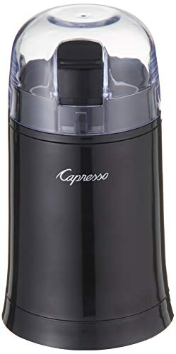 Capresso 505.01 Cool Grind Coffee/Spice Grinder, Black