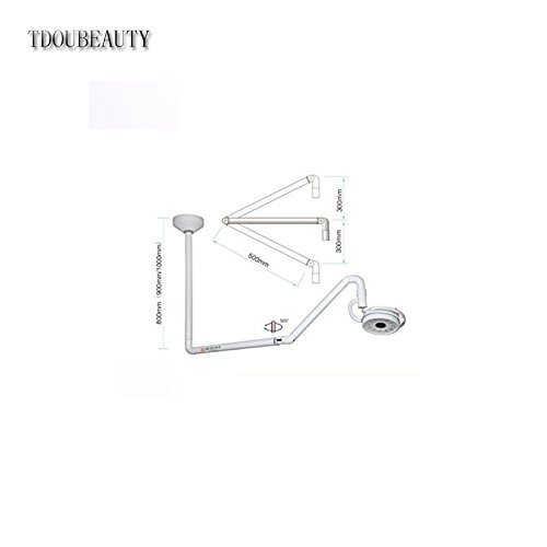 36 W Ceiling LED Surgical Medical Exam Light Shadowless Lamp KD-2012D-2 800mm by TDOUBEAUTY (Image #3)