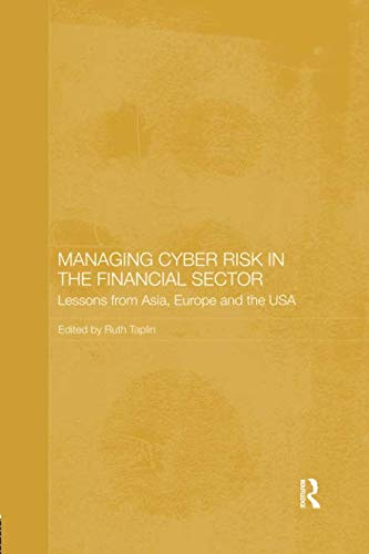 Managing Cyber Risk in the Financial Sector (Routledge Studies in the Growth Economies of Asia)-cover