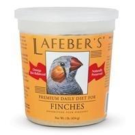 Lafeber's Premium Daily Diet Pellets for Finches 1 lb. tub