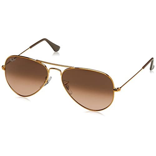 bbbfbfb18a ... new style ray ban sunglasses bronze shiny brown metal non polarized  55mm 30 f3a36 cd57b