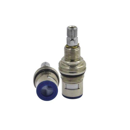 Kingston Brass Faucet Parts - Kingston Brass KSRPL3000CC Cartridge for KS3961BL and KS3962BL Cold Side Handle, Polished Chrome