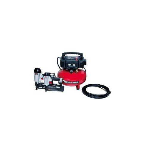 Porter Cable PCFP12656 Finish and Brad Nailer Combo Kit