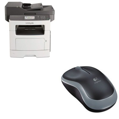 KITLEX35S5703LOG910002225 - Value Kit - Lexmark MX511de Multifunction Laser Printer (LEX35S5703) and LOGITECH, INC. M185 Wireless Mouse (LOG910002225) by Lexmark