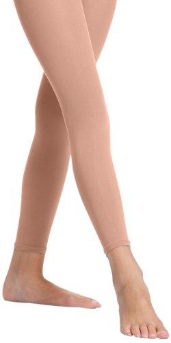 Danskin Women's Footless Tight, Classic Light Toast, C/D