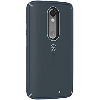 Speck MightyShell Case for Motorola Droid Turbo 2 - Gray & Blue (Certified Refurbished