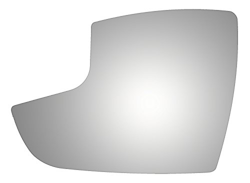 Burco 4434 Lower Flat Driver Side Replacement Mirror Glass for 12-16 Ford Focus (2012, 2013, 2014, 2015, 2016) (Glass Auto Ford)