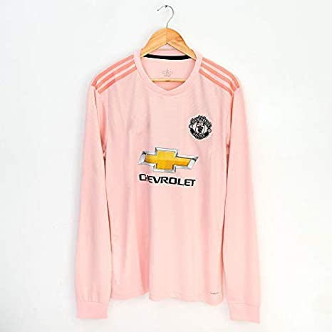 34b89ffa9af Amazon.com : Velociraptor Manchester United Soccer Football Jersey 2018/19  Home Away Third Special Edition Long Sleeve : Clothing