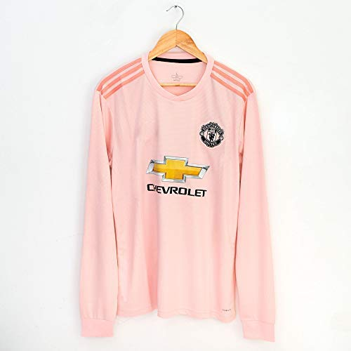 Velociraptor Manchester United Soccer Football Jersey 2018/19 Home Away Third Special Edition Long ()