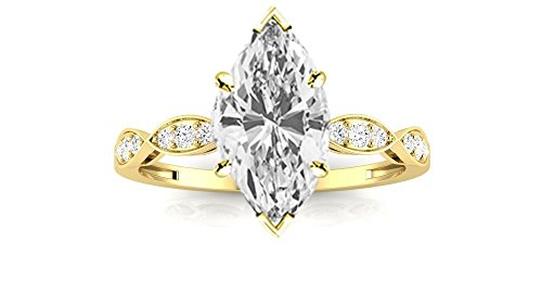 0.76 Ct Marquise Diamond - 7