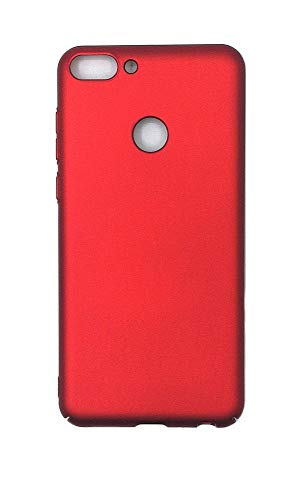 Case for Huawei P Smart FIG-LX1 FIG-LX2 FIG-LX3 FIG-LA1 FIG-L21 FIG-L22 / Vodafone P Smart/Huawei Nova Lite 2 / Enjoy 7S FIG-TL10 FIG-AL00 FIG-AL10 Case PC Hard Cover Red (Vodafone Smart 2 Case)