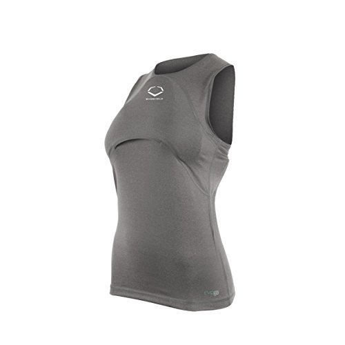 EvoShield Racerback Chest Guard Sleeveless Shirt Size: Girls Large (Protector Evo Chest)