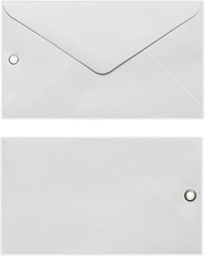#63 Mini Envelope with Grommet (2 1/2 x 4 1/4) - White (250 Qty.) | Perfect for the Holidays, Gift Cards, Product Information, Directions, and more! |EN6303-250 (Gift Grommet Card)
