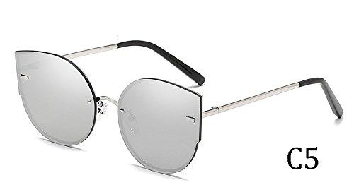 C2 sol 58035 Sunglasses mujeres Gato Ojo de TL de gafas 58035 UV400 C5 vxfqT0S6