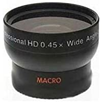 41.5mm Wide Lens for Panasonic HDC-SD90, Panasonic HDC-SD90P, Panasonic HDC-SD90PC, Panasonic HDC-TM90, Panasonic HDC-TM90P