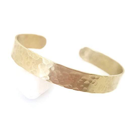 - Gold Cuff/Hammered Brass Cuff/Hammered Gold Bracelet