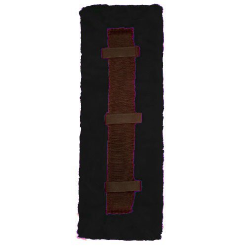 (Intrepid International Fleece Harness Pad, Black, Horse)