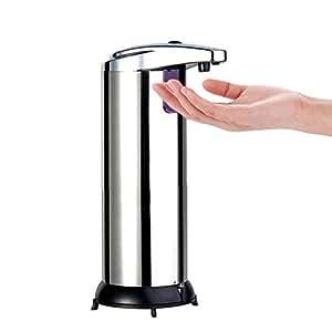 Dispenser touch automatic liquid soap - Built in soap dispenser in bathroom ...