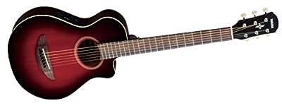 Yamaha APX500III BL Thin Line Acoustic/Electric Cutaway Guitar, Black