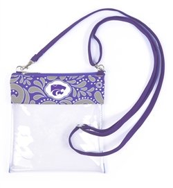 Canyon Outback Clear Crossbody Game Day Bag (Stadium Approved) ... (Kansas State)