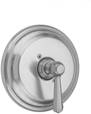 Jaclo A385-TRIM-EB Traditional Round Pressure Balance Valve with Diverter and Hex Lever Handle Europa Bronze Standard Plumbing Supply