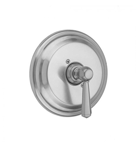 Jaclo A485-TRIM-SG Traditional Round Pressure Balance Valve with Hex Lever Handle Satin Gold
