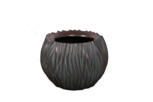 Weathered Bowl Copper Round (Nautical Tropical Imports 18
