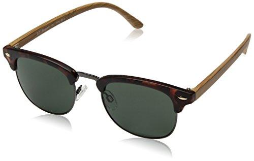 A.J. Morgan Kent Square Sunglasses, Matte Tortoise, 50 mm