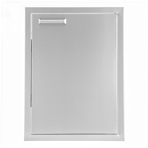 BBQGuys.com Sonoma Series 17-inch Stainless Steel Right-hinged Single Access Door - (Right Hinged Stainless Single)