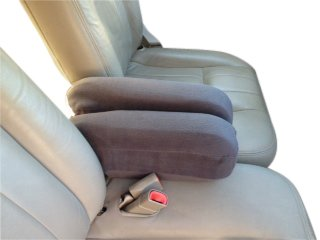 Sensational Mercury Grand Marquis 1998 2012 Car Auto Armrest Covers Protect Your Fold Down Armrest With Our Fleece Fabric One Pair Monster Size Dark Gray Uwap Interior Chair Design Uwaporg