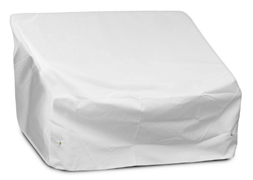 KOVERROOS Weathermax 19147 Loveseat/Sofa Cover, 51-Inch Width by 33-Inch Diameter by 33-Inch Height, White by KOVERROOS