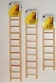 Birdie Basics Wood Ladders 3pcs Combo Pack (Includes One 7-Step Ladder, One 9-Step Ladder, and One 11-Step Ladder) by Birdie Basics