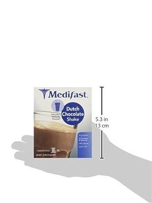 Medifast Dutch Chocolate Shake (1 Box = 7 Meals)