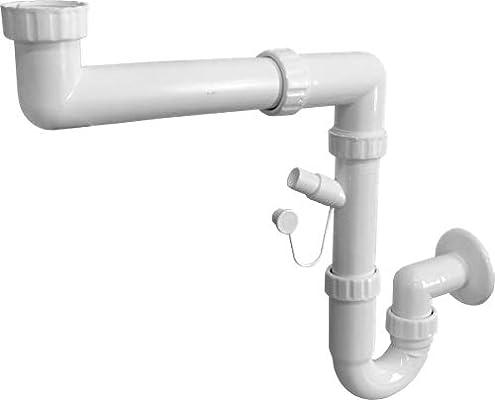 Siphonly® - Sifón de ahorro de espacio, desagüe para fregadero ...