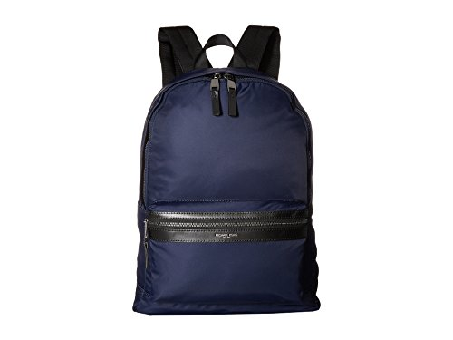 Michael Kors Men's Kent Nylon Backpack, Indigo, One Size