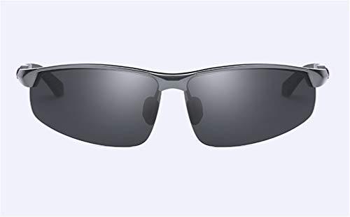 Sport Conducción de Al Hombres la Black Sol XIYANG de Metal Gafas Personalidad MG Frame Gray Moda Polarized Ultra Light n8xIwY
