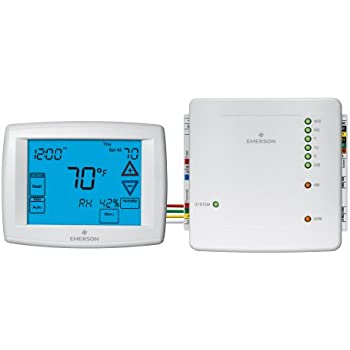 emerson 1f98ez 1441 4 wire easy install thermostat system. Black Bedroom Furniture Sets. Home Design Ideas