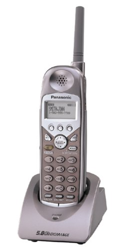 amazon com panasonic kx tga510m 5 8ghz accessory handset for kx rh amazon com Cordless Phones with Answering Machine 3 Line Cordless Phone System
