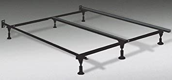 Amazon.com: Soft Sleeper Heavy Duty King Metal Bed Frame with ...